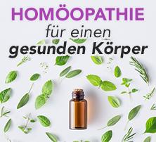 Homöopathie für einen gesunden Körper