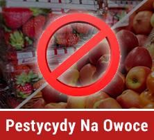 pestycydy na owoce