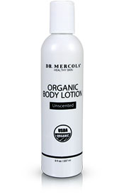 Organic Body Lotion 8 fl oz