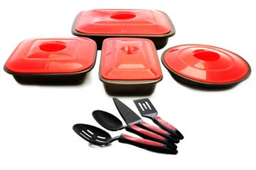 Mercola Healthy Chef 12 Piece Bakeware Set