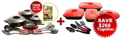 Mercola Healthy Chef Cookare and Bakeware bundle