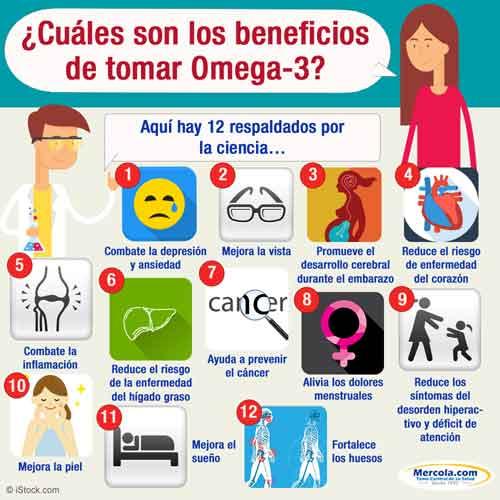 Los Beneficios de la Grasa Omega-3