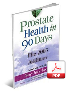 Prostate Health in 90 days E Book