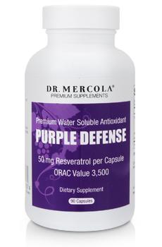 Purple Defense Bottle