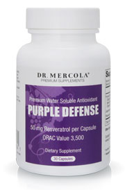 Purple Defense 30 Capsule Bottle