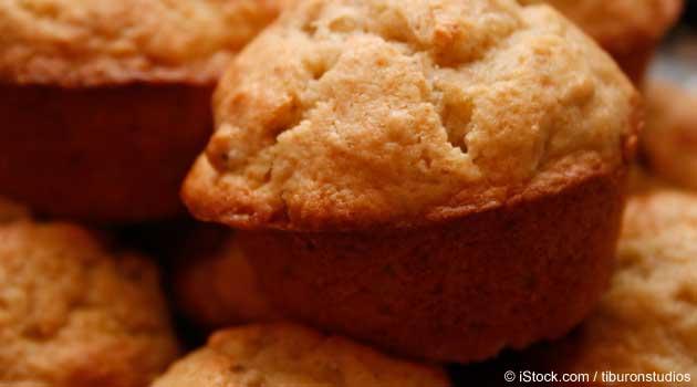 Receta de Muffins de Plátano