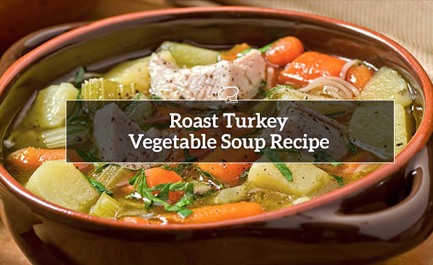Roast Turkey Vegetable Soup