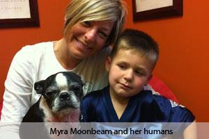 Myra Moonbeam and her Family