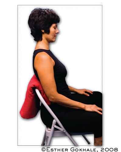 Kręgosłup podczas siedzenia