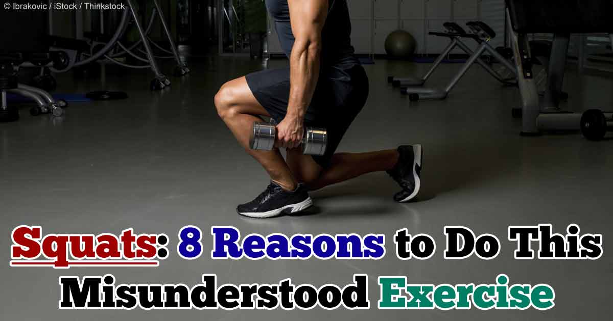 8 Reasons To Do Squat Exercises