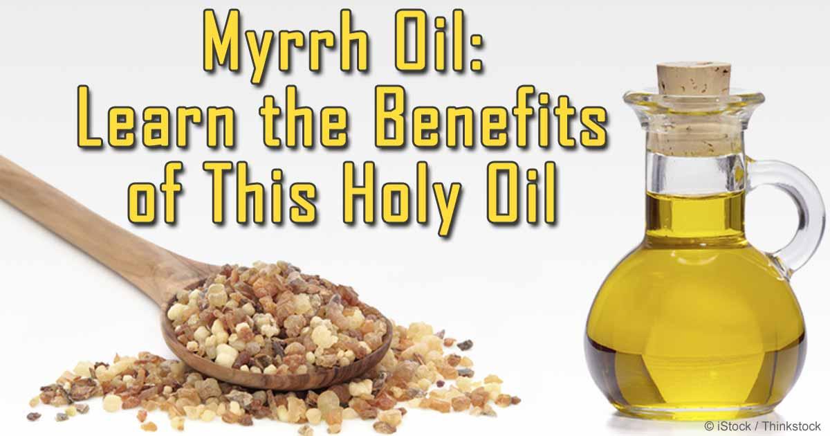 Oil myrrh