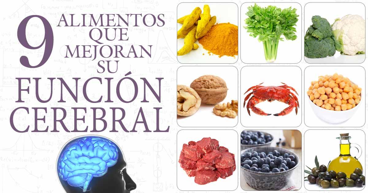 Los 9 alimentos que mejoran su funci n cerebral - Alimentos que bajen la tension ...