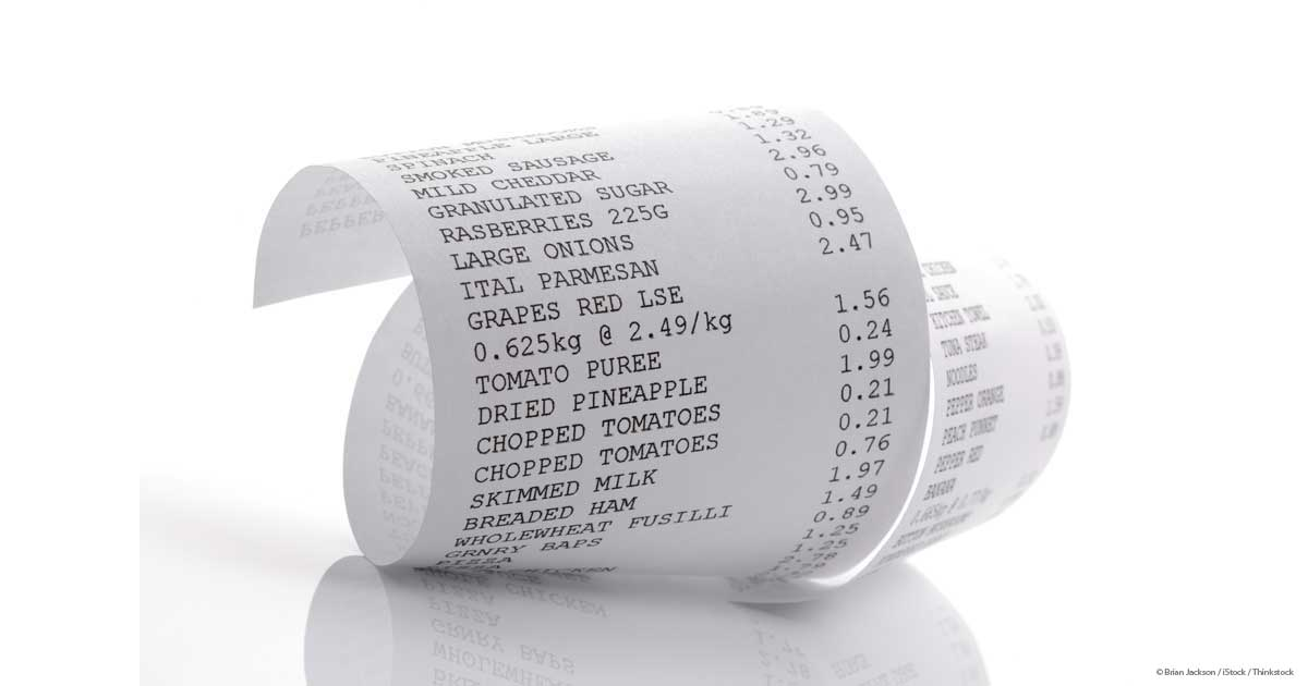 receipts may be a source of endocrine disruptor