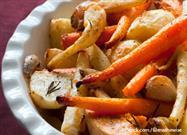 Roasted Root Vegetables -- A Tasty Treat