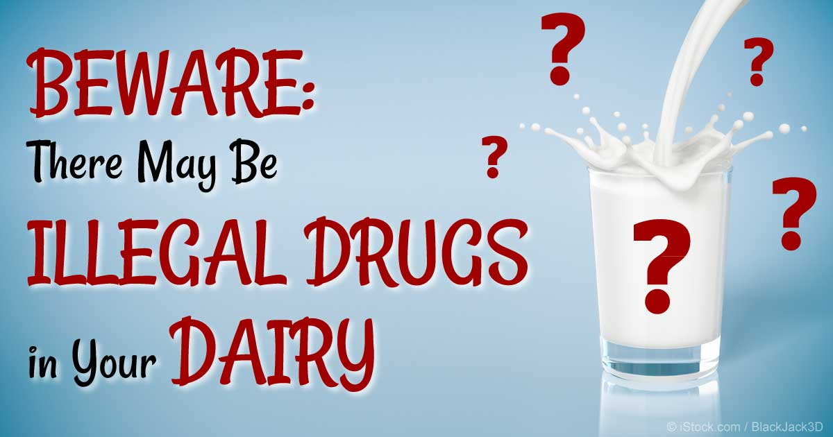 Are There Illegal Drugs in Your Milk?