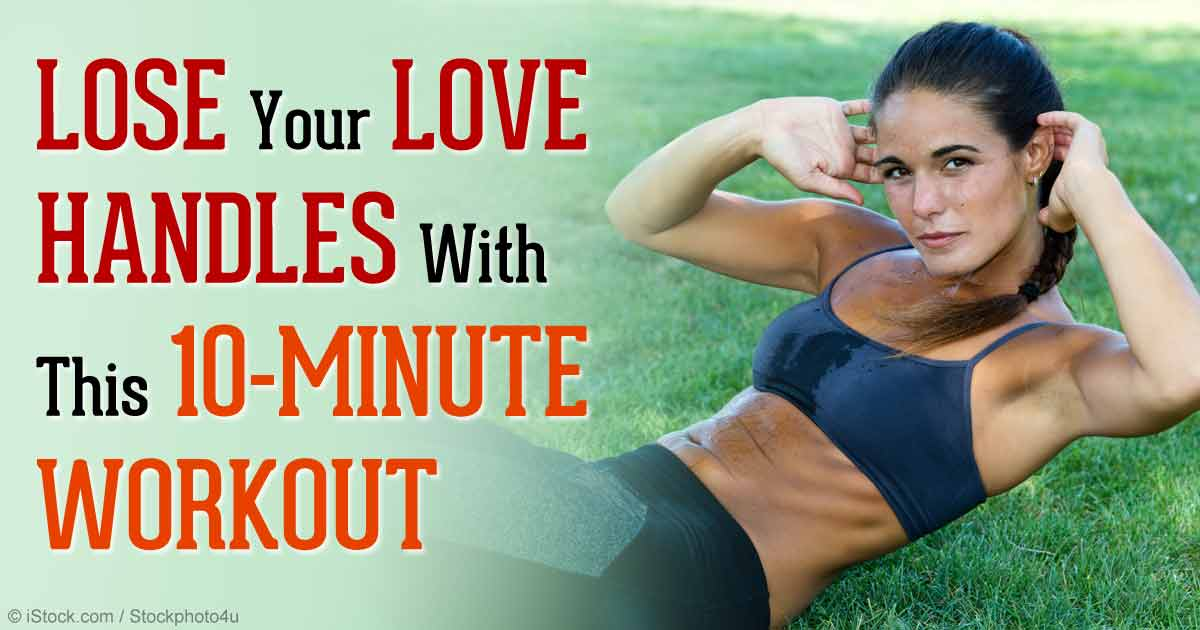 How To Get Rid Of Love Handles With These 10-Minute Workouts
