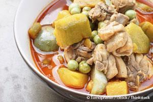 Healthy Curry Chicken with Pumpkin