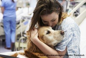 Therapy Dogs Can Be Beneficial