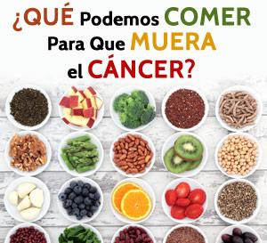 Que Podemos Comer para que Muera el Cancer