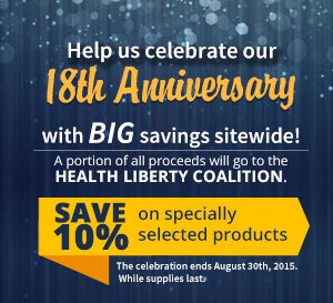 Anniversary Sale 2015