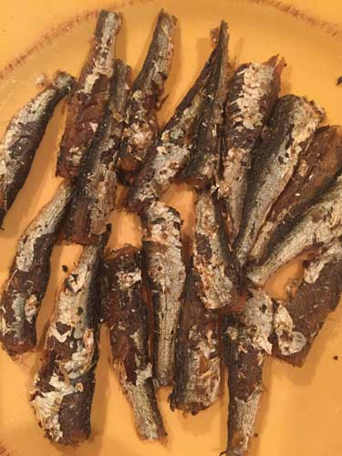 Dehydrated Sardines
