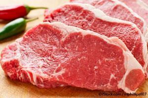 contaminated meat