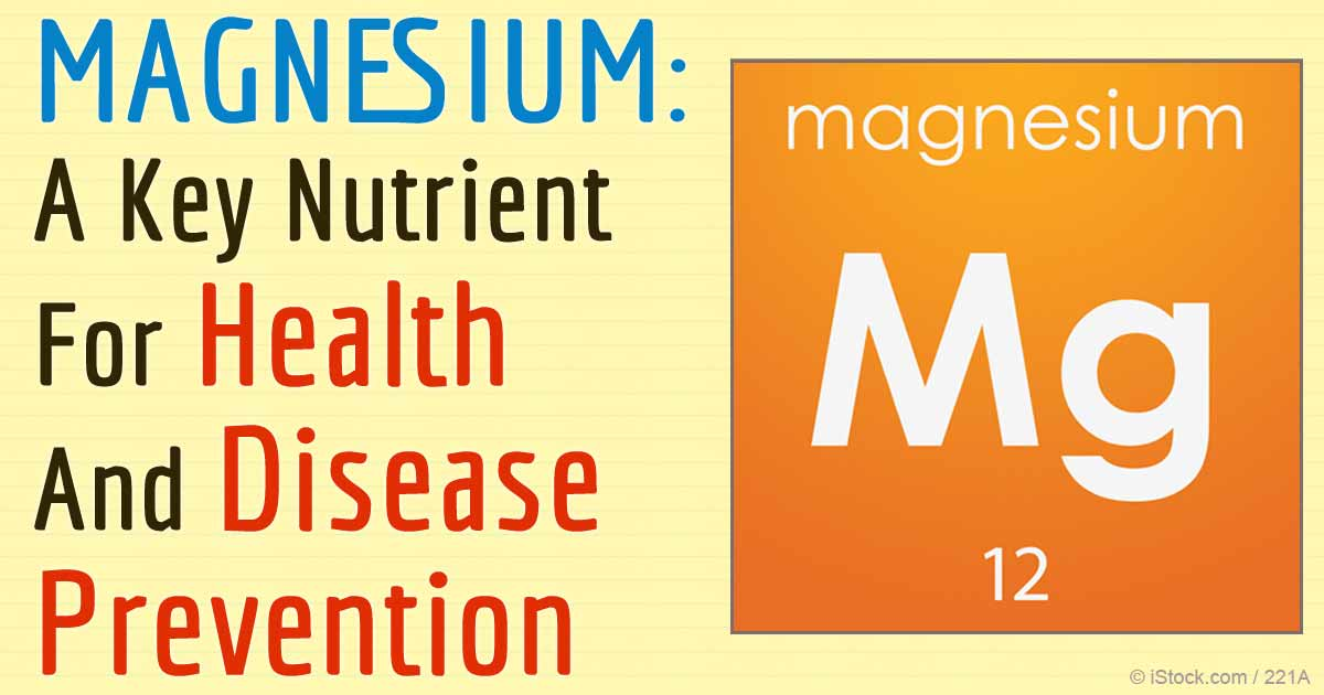 role of magnesium in health and disease processes Magnesium: the cure to all disease scott gavura on september 13, 2012 share this: tweet given the number of systems and processes that are controlled by magnesium, supplementation could plausibly have biological effects given the complexity of magnesium's role in the body.