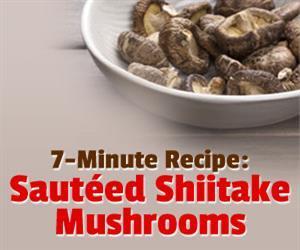 sauteed shiitake mushroom recipe