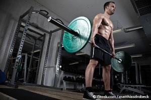 Тренировка становой тяги