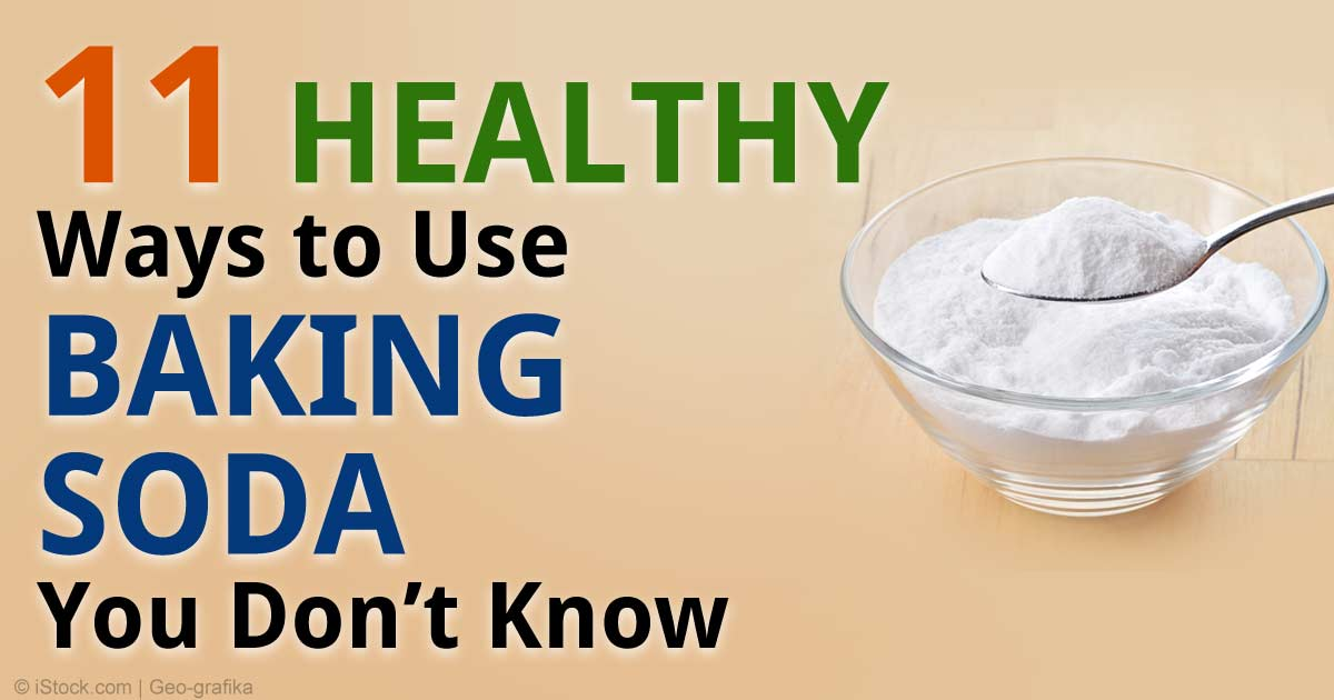Baking Soda Hot Water Drink