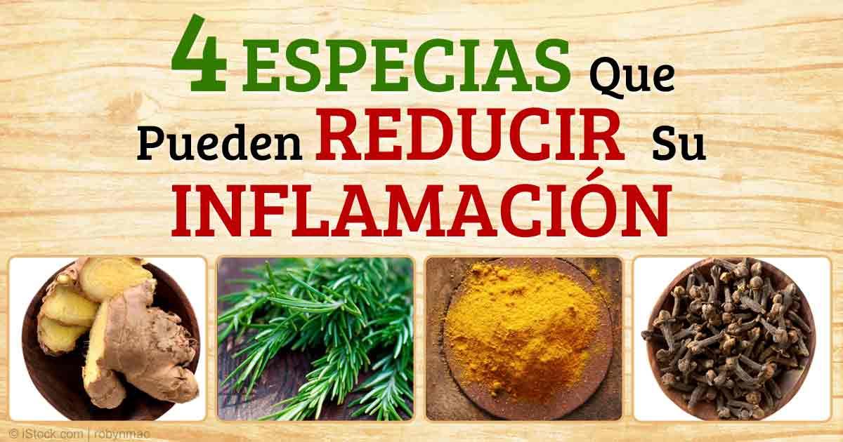 Las Mejores Alimentos, Hierbas y Especias Antiinflamatorios
