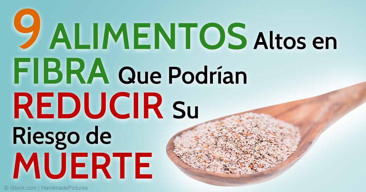 Dieta alta en fibra vinculada a reducir la mortalidad - Alimentos que tienen fibra ...