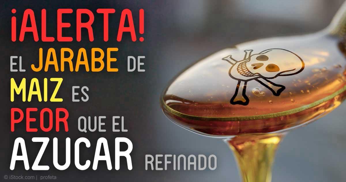 Estudio: El Jarabe de Maíz es Mas Toxico que el Azúcar de Mesa