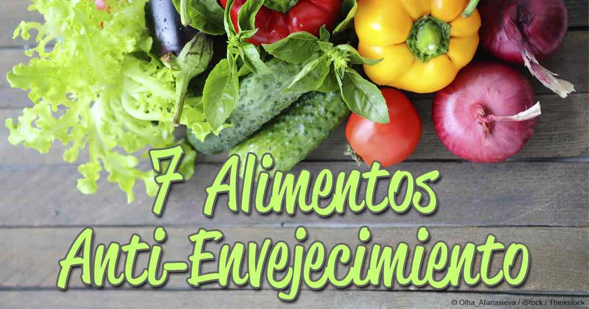 Siete alimentos antienvejecimiento usted es lo que come - Alimentos antienvejecimiento ...