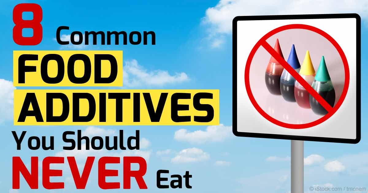 8 Worst of the Worst Ingredients in Processed Foods