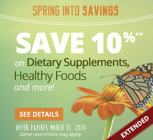 spring sale 2015
