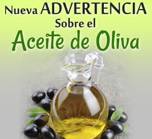 advertencia sobre el aceite de oliva