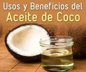usos beneficios aceite de coco