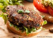 Burger with Mushroom Base