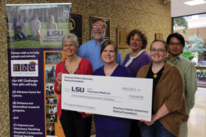 American Holistic Veterinary Medical Foundation Donation