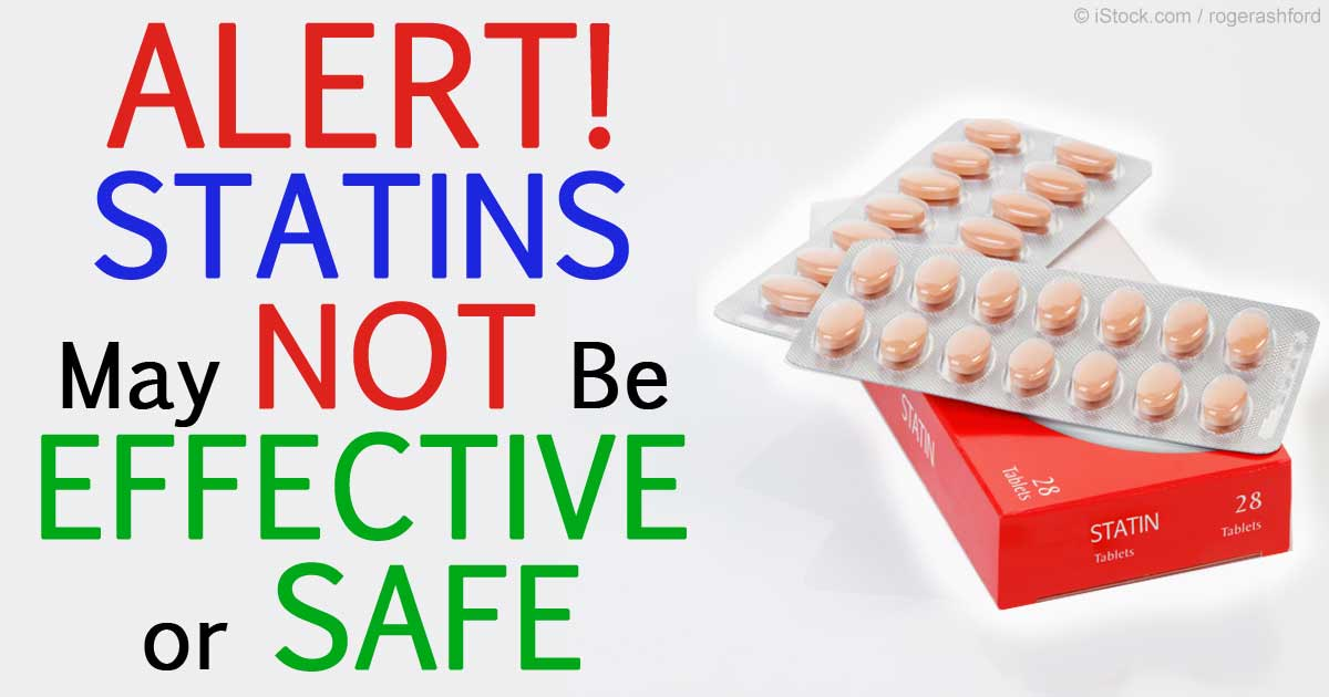 Study reveals statins not very effective or safe