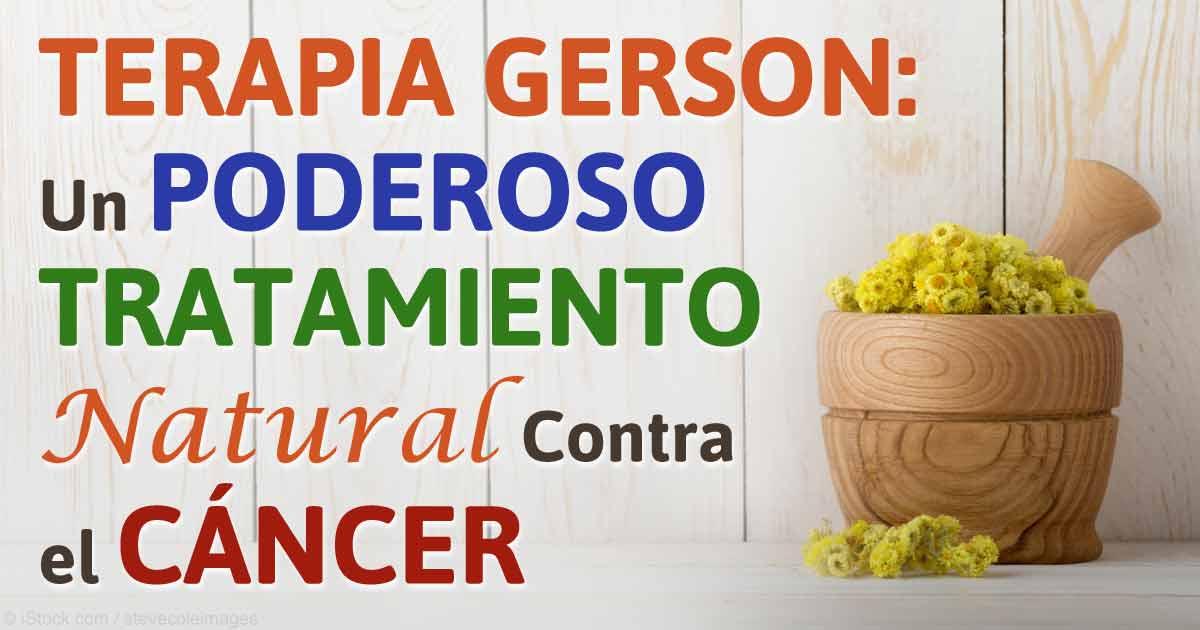 cameliapr: Terapia Gerson: Poderoso Tratamiento Natural ...
