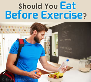 eating before exercise