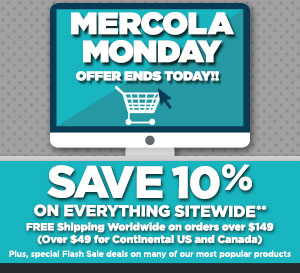 mercola monday sale