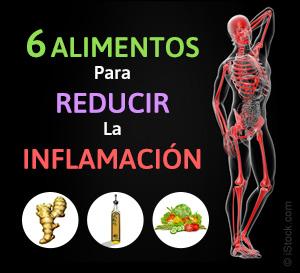 6 alimentos para reducir la inflamacion