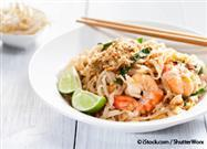 Pad Thai with Almond Sauce Recipe