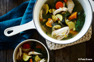 Hearty Chicken and Vegetable Soup