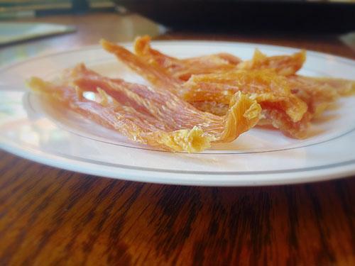 Dried Chicken Strips