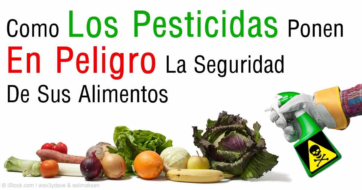 Uso Rutinario de Carcinógenos & Pesticidas en Sus Alimentos