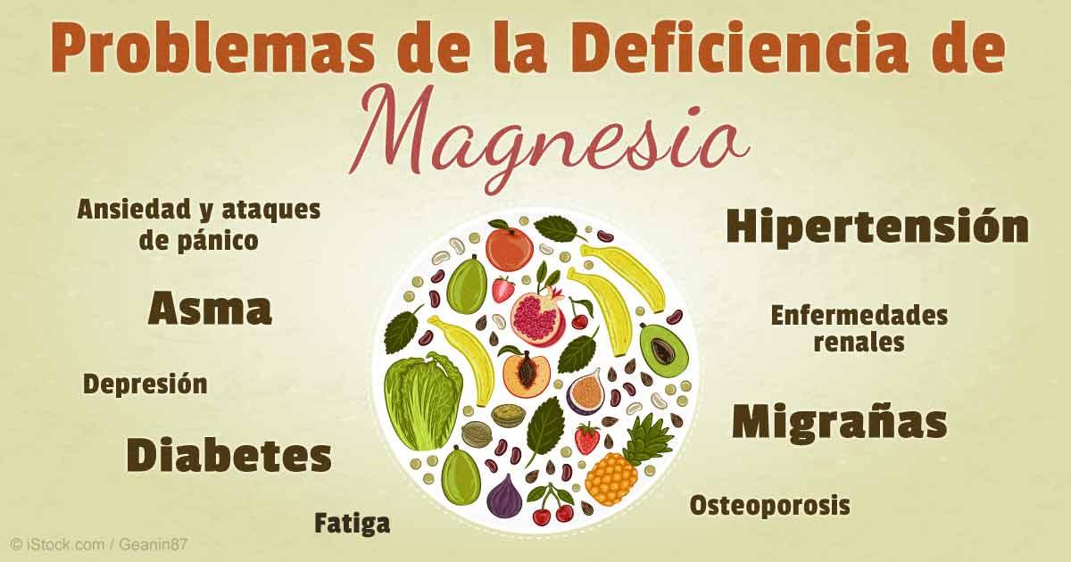 cloruro de magnesio propiedades y la diabetes